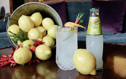El perfect serve Limón con tequila de Sergio Padilla