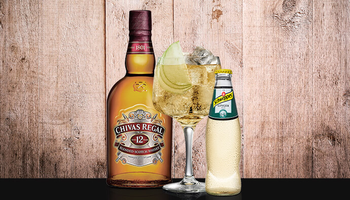 Chivas Regal Ginger Ale