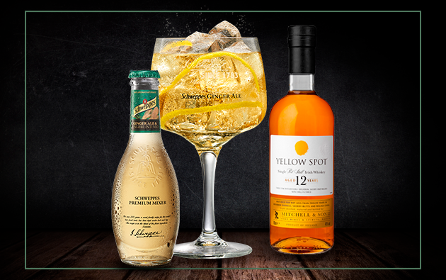 Whisky Yellow Spot con Ginger Ale