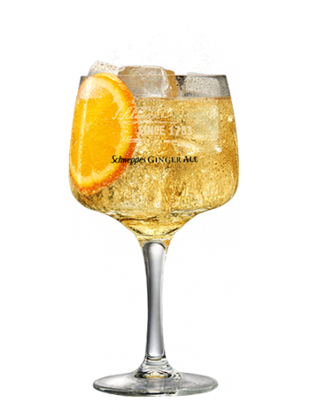 Havana Club Añejo Reserva & Ginger Ale Premium