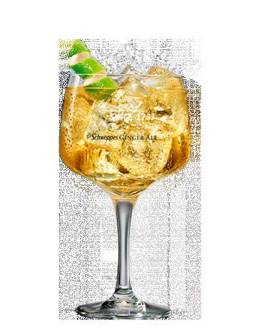 Johnnie Walker Red Label & Ginger Ale