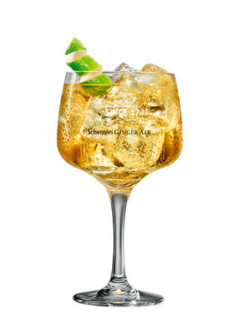 Ballantine's Finest & Ginger Ale Schweppes