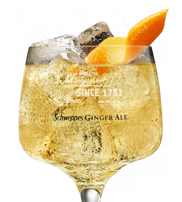 Jim Beam & Ginger Ale Schweppes