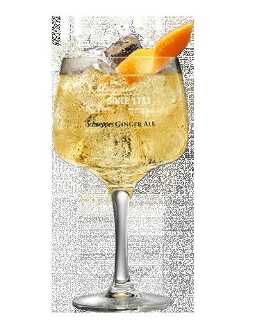 Jim Beam & Ginger Ale Schweppes