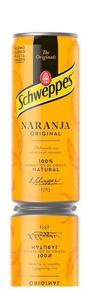Naranja Original, fresca, con un toque seco